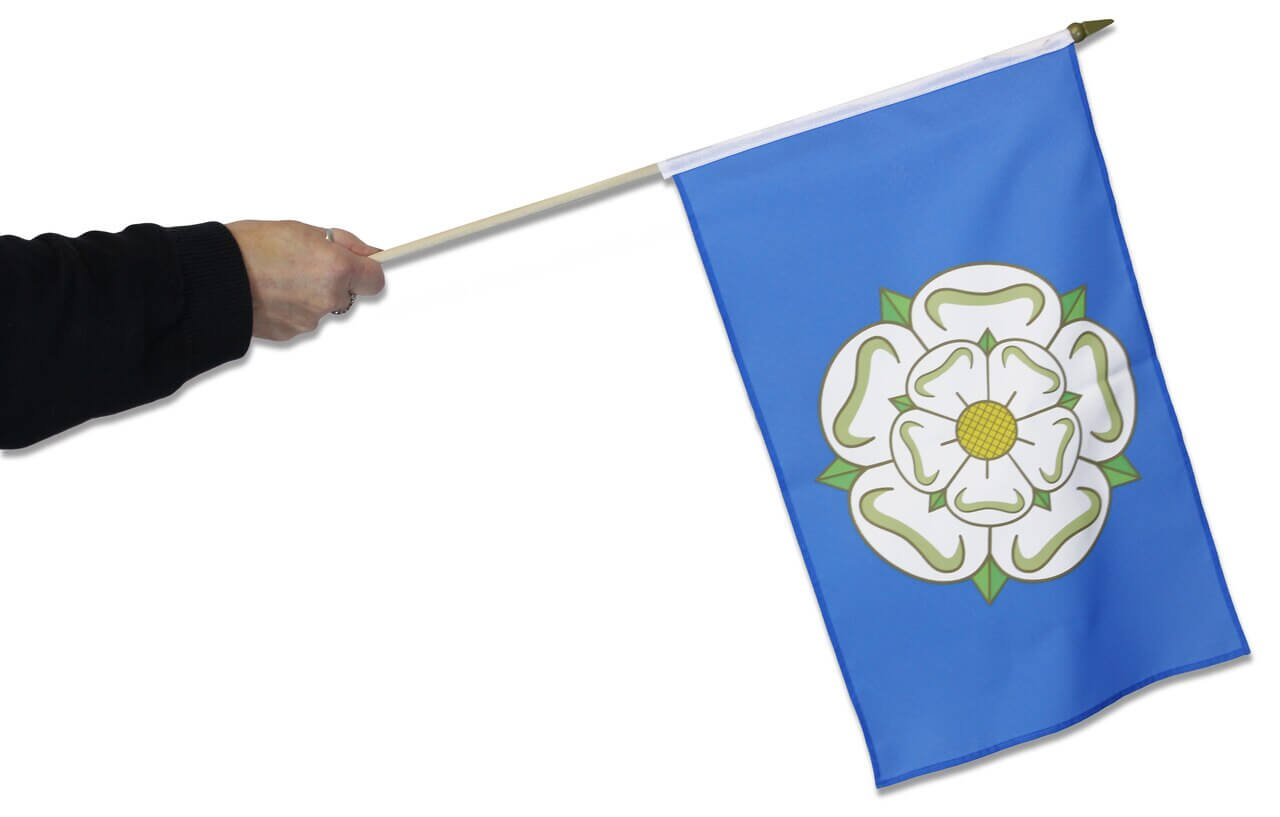 Yorkshire__flag and hand