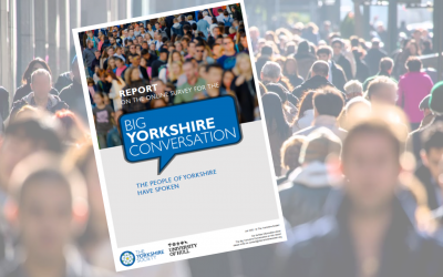 Request a free copy of the Big Yorkshire Conversation survey report